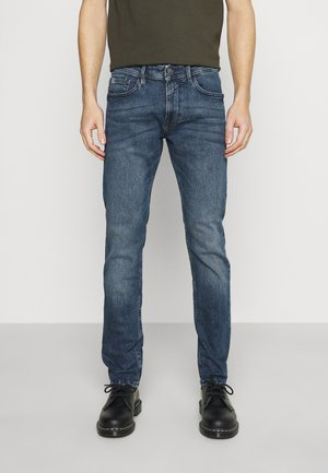 SLIM PIERS STRETCH - Jean slim - used light stone blue denim