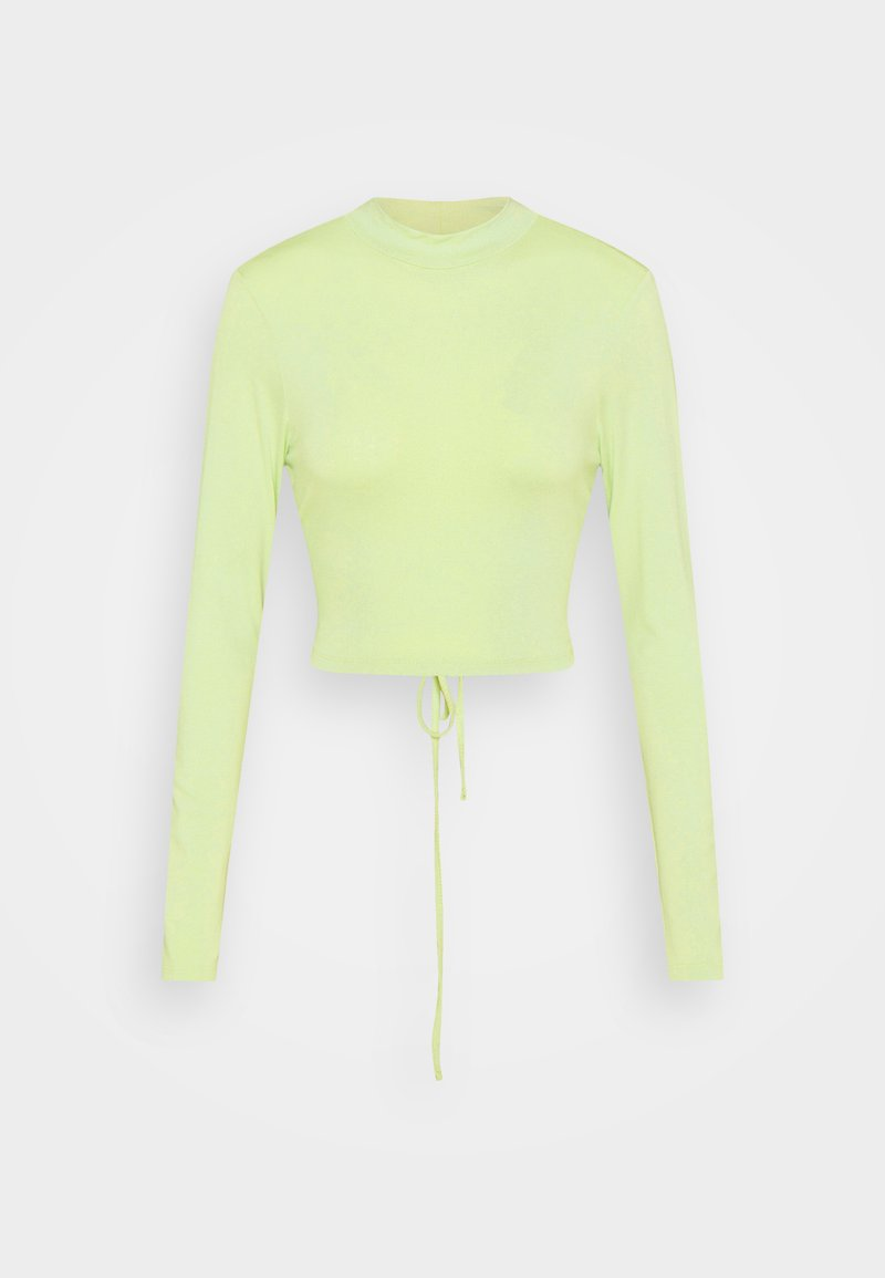 NA-KD - EXCLUSIVE STRAPPDY - Long sleeved top - fresh green