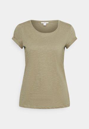 CORE - T-shirt basic - light khaki