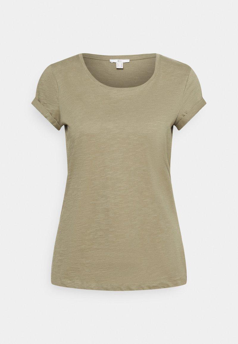 edc by Esprit - CORE - Basic T-shirt - light khaki