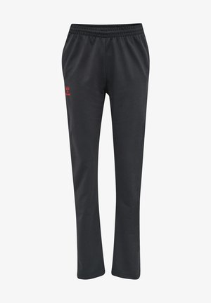 Spodnie treningowe - ebony flame scarlet