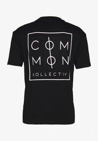 Common Kollectiv - UNISEX ZONE - Print T-shirt - black - 1
