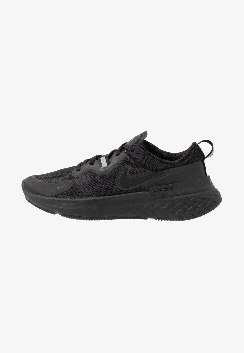Nike Performance - REACT MILER - Obuwie do biegania treningowe - black