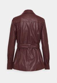 Twist & Tango - CECILIA JACKET - Faux leather jacket - reddish brown - 8