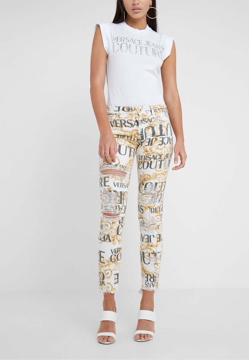 Versace Jeans Couture - Jeans Skinny Fit - white