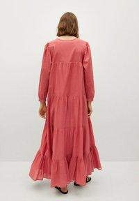 Mango - VIOLET - Maxi dress - erdbeerrot - 1