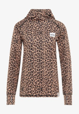ICECOLD HOOD - Sports shirt - brown