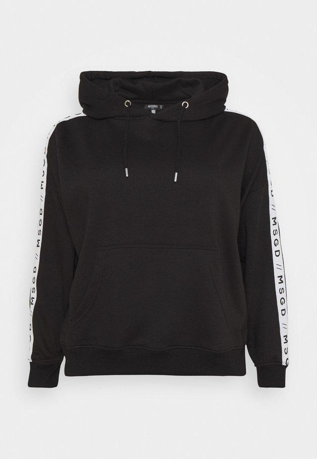 SLOGAN LOUNGE HOODIE - Jersey con capucha - black