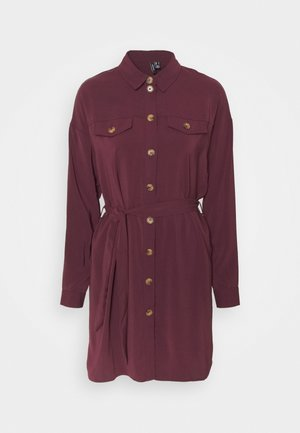 VMCOCO DRESS  - Shirt dress - winetasting