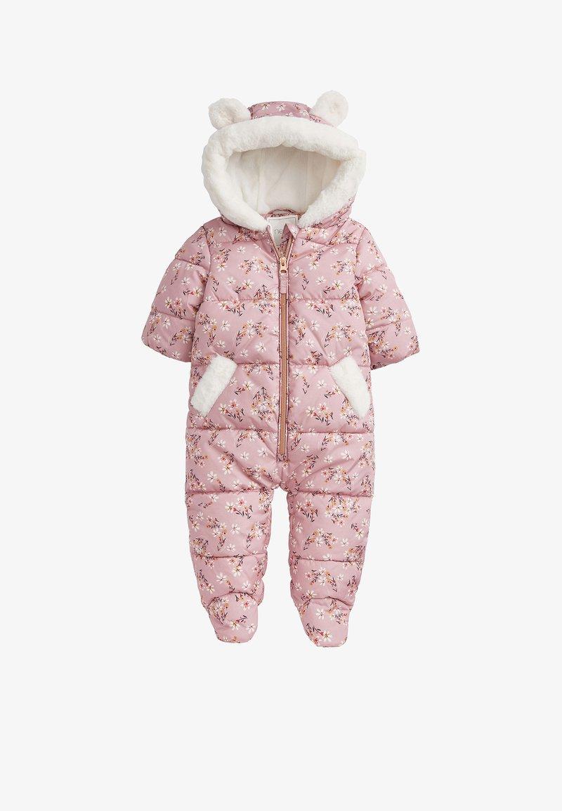 Next - Snowsuit - pink