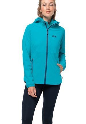 GO HIKE - Soft shell jacket - dark aqua