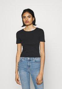 Topshop - EVERYDAY TEE 3 PACK - Print T-shirt - black/white/grey - 5