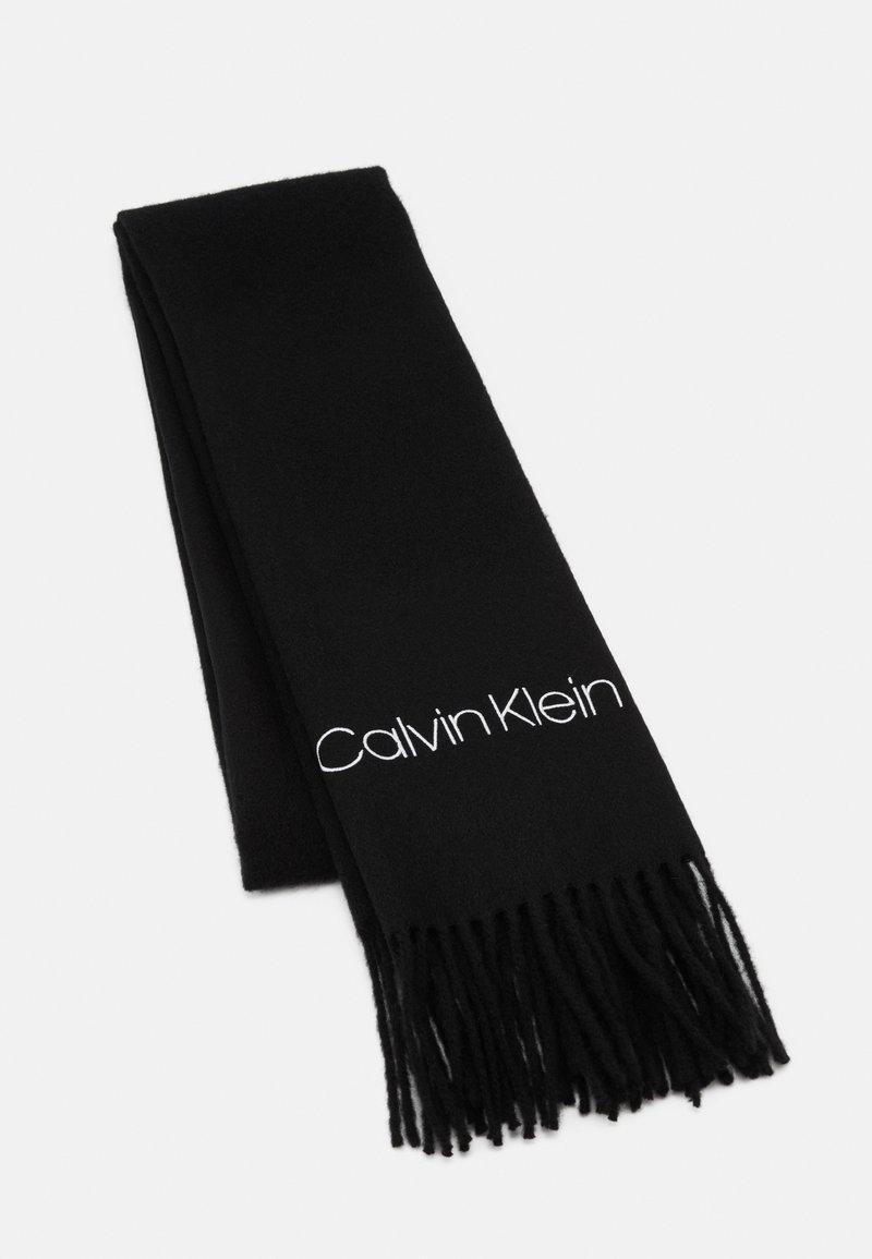 Calvin Klein - SCARF  - Scarf - black