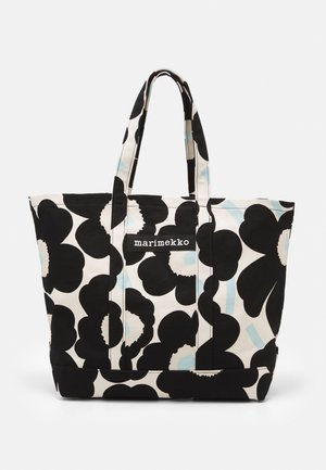 PERUSKASSI PIENI UNIKKO - Tote bag - off white/black/light blue