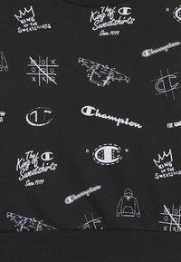 Champion - LEGACY AMERICAN CLASSICS CREWNECK  - Sweater - black - 2