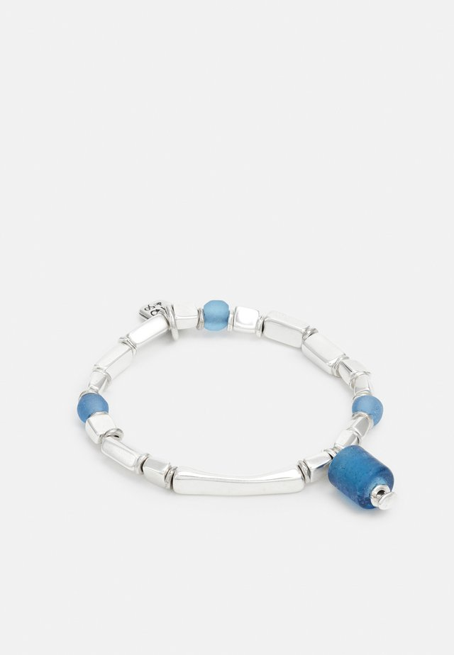 BATU BOLONG - Bracciale - blue/silver-coloured