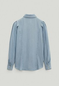 Massimo Dutti - Button-down blouse - light blue - 1
