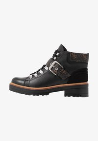 Guess - IRVIN - Ankle boots - black/brass - 1