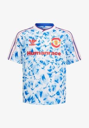 Print T-shirt - weissblau