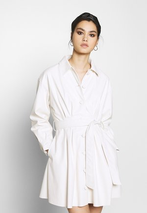 THE MINI - Shirt dress - parchment