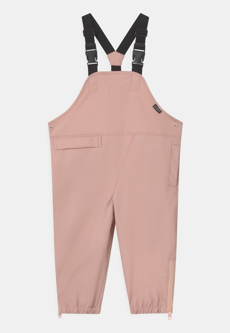 Gosoaky - PRINCE OF FOXES UNISEX - Rain trousers - evening pink
