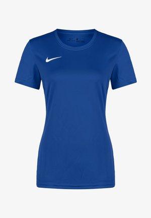 DRY PARK VII - Basic T-shirt - royal blue / white