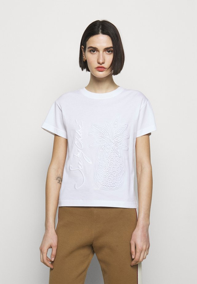 T-shirt basique - white powder