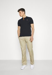 Schott - PSMILTON - Polo shirt - navy/orange - 1