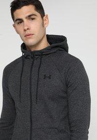 Under Armour - SPORTSTYLE FULL ZIP - Zip-up hoodie - black - 4