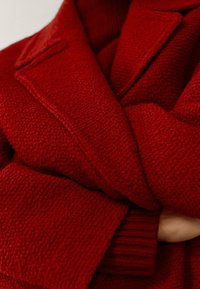 Massimo Dutti - Classic coat - red - 5