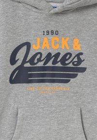 Jack & Jones Junior - JJELOGO - Hoodie - light grey melange - 2