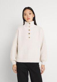 Fashion Union - JORDIE - Stickad tröja - cream - 0