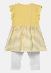 Staccato - SET - Leggings - Trousers - yellow/white - 1