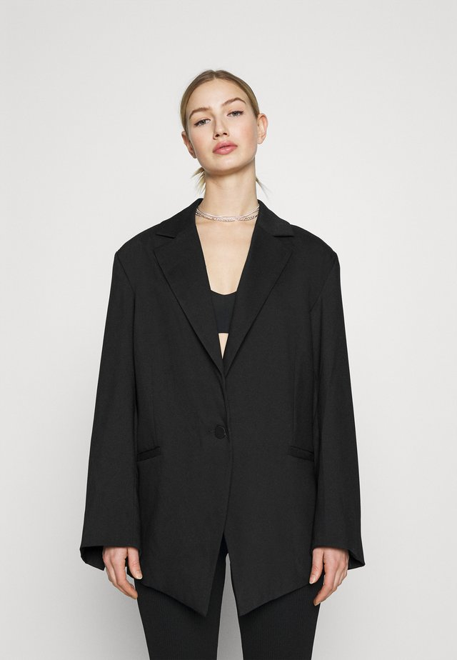 MARLIN OVERSIZED - Manteau court - black