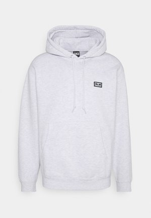 ALL EYEZ HOOD - Sweat à capuche - ash grey