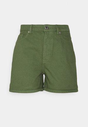 ONLBAY MOM - Denim shorts - desert sage