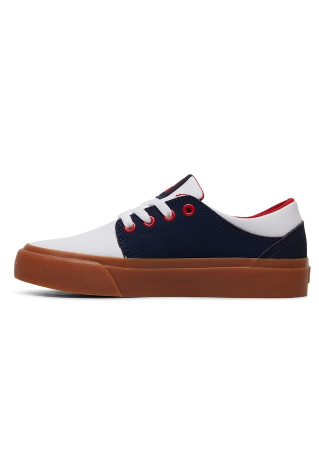 TRASE - Sneakers laag - navy/white