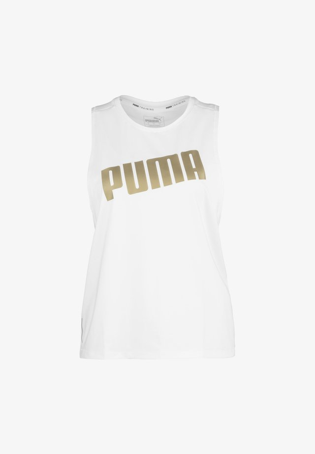 METAL SPLASH ADJUSTABLE TANK - Koszulka sportowa - white