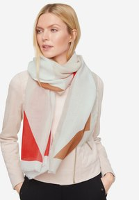 comma - Scarf - red graphic print - 0