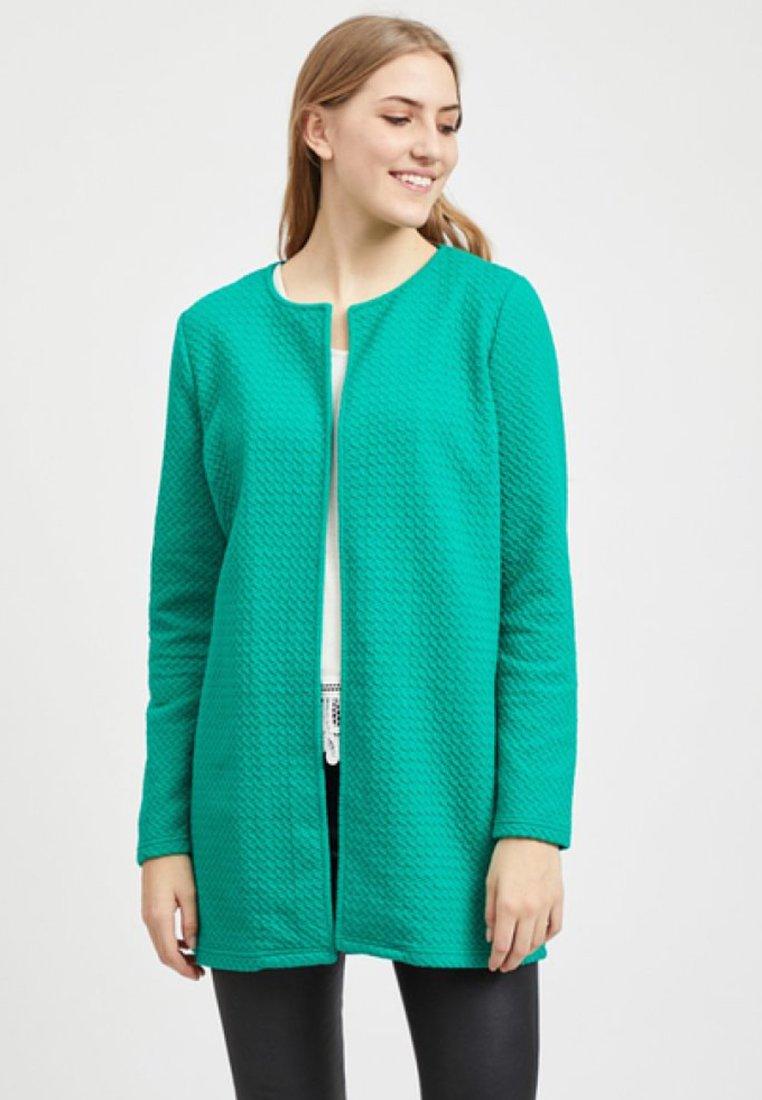 Vila - VINAJA NEW LONG JACKET - Summer jacket - pepper green
