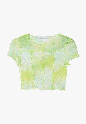 SHORT SLEEVE - T-shirt imprimé - neon green