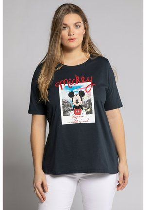 MICKEY MOUSE  - Print T-shirt - marine