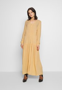 Monki - CARIE DRESS - Maxikjole - beige - 2