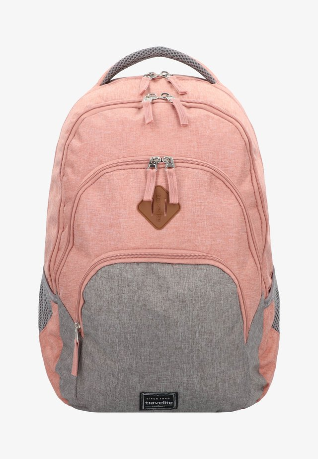 School bag - rosa/grau