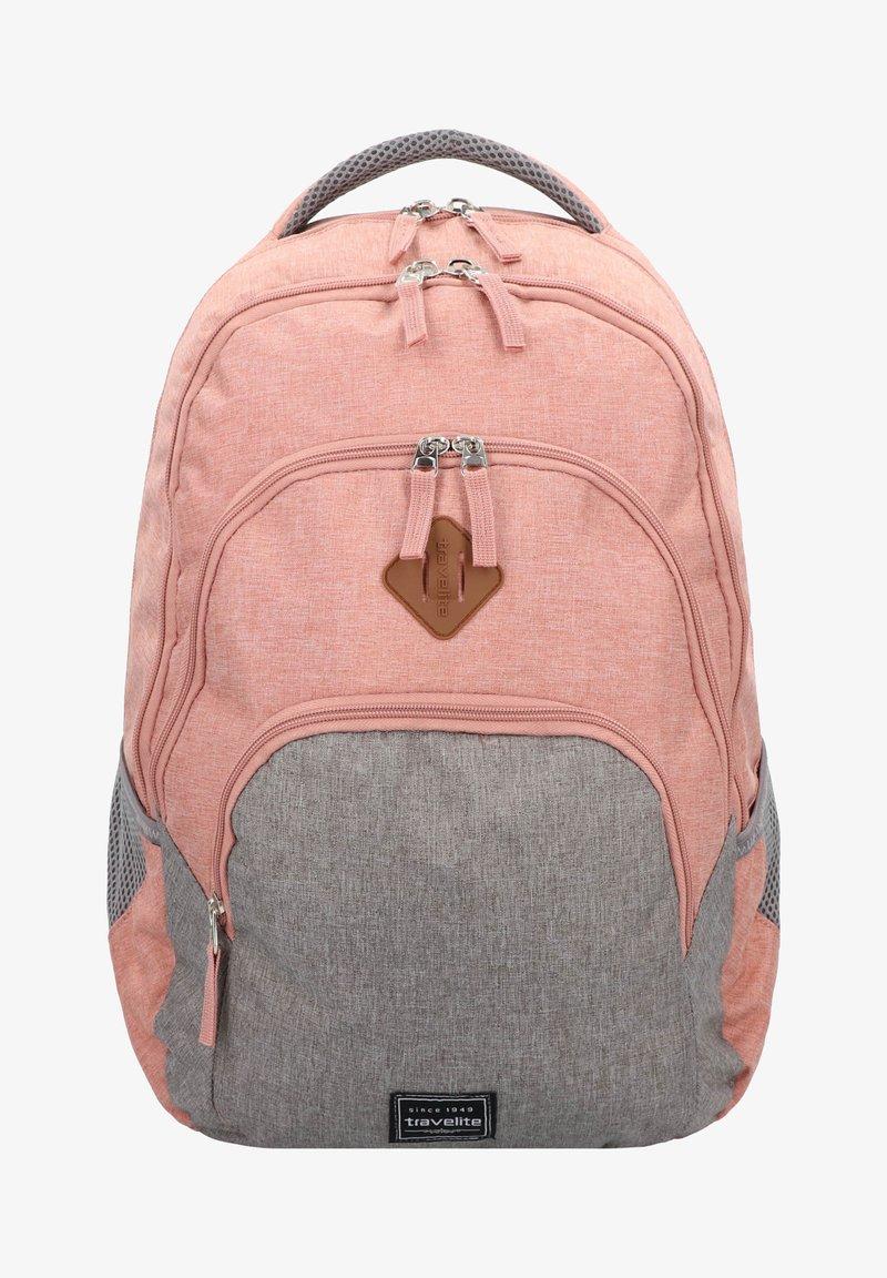 Travelite - School bag - rosa/grau