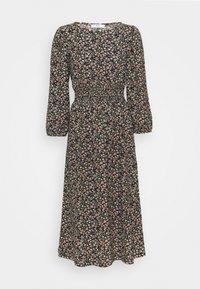 ONLY Petite - ONLZILLE SMOCK MIDI DRESS - Day dress - black - 0