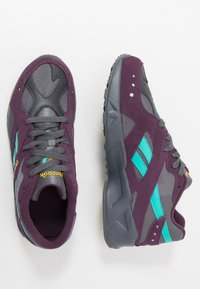 Reebok Classic - AZTREK - Sneakers - outdoor/true grey/urban violet/yellow/teal/lime - 1