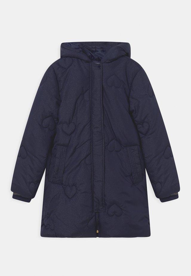 EXCLUSIVE PUFFER - Winter coat - navy