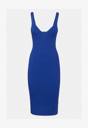 ANLIEGENDES - Vestido de tubo - blau