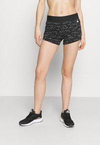 adidas Performance - SHORT - Leggings - black/white - 0